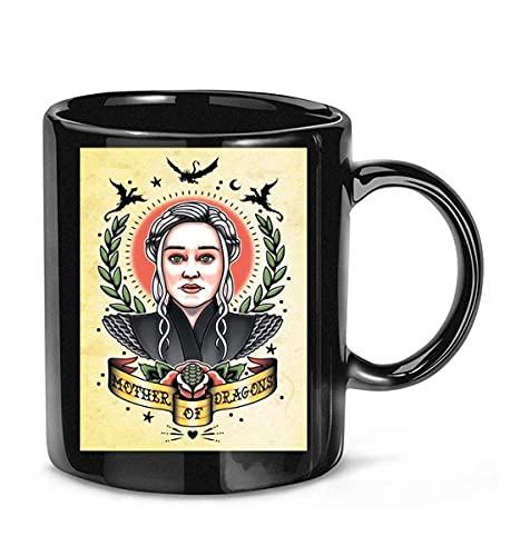 N\A Taza de café de la Serie de televisión Mother of Dragon Game of Throne para Mujeres y Hombres, Tazas de té