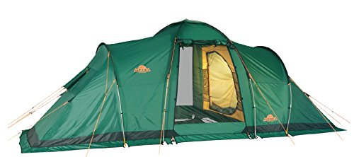 Alexika Camping Zelt Maxima 6 LUX, grün, 9151.6401