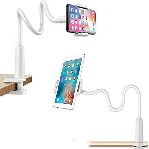 EMBOX Extra Long Universal Mobile Holder and Tablet Holder with 360° Rotation | Compatible with Tablets Up to 10.5 inch, mobile stand for online classes mobile holder for bed, flexible mobile holder, mobile stand