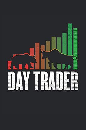 Notebook: day trading, trading, azioni, borsa: 120 pagine a righe: taccuino, album da disegno, diario, elenco delle cose da fare, album da disegno, per pianificare, organizzare e prendere appunti.