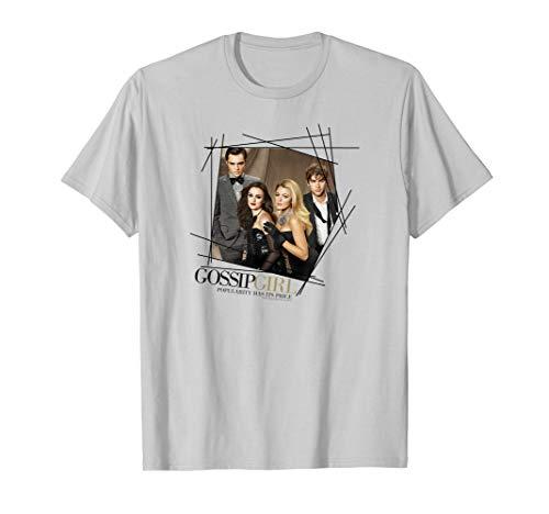 Gossip Girl Line Border T Shirt
