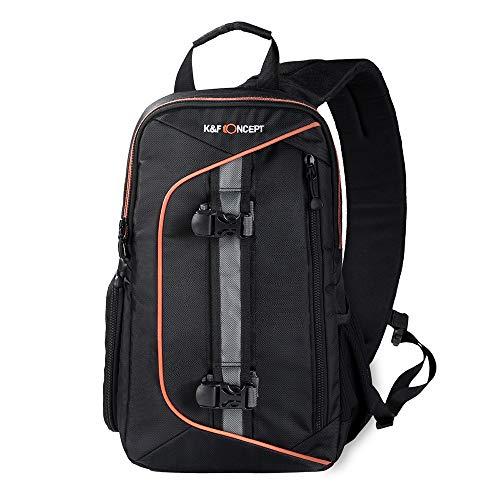 TOPTOO Digital DSLR Camera Bag Mochila Case Sling Bolsa de H