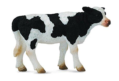 Collecta Standing Friesian Calf  3 L x 1.8 H