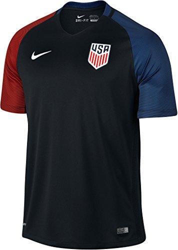 Nike United States Away Stadium Soccer Jersey (Small) Black