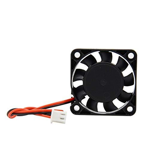 Accesorios de impresora 5pcs 4010 Cooler Fan 12V 24V Cable de 2 pines Adecuado para impresoras 3D Piezas Ventiladores fríos sin escobillas Parte 404010 Silencioso DC 40m Radiador más frío Accesorios d