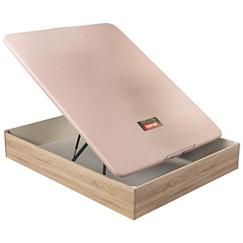Canapé abatible pikolin naturbox Transpirable Altura 32 cm - Roble, 120x190cm