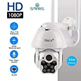 Smars® 1080P PTZ IP Camera WiFi Outdoor Speed Dome Wireless WiFi Security Camera
