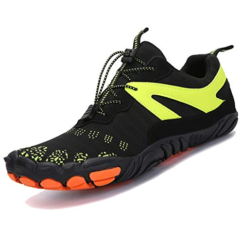 scarpe da ginnastica donna running Unitysow Scarpe da Trail Running Uomo Scarpe Barefoot Donna Ginnastica Palestra Scarpe da Sportive Respirabile Outdoor Trekking Sneakers Unisex Scarpe da Immersione