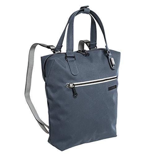 パックセーフ (pacsafe) インターセーフ Intasafe Backpack tote バックパックトート 防犯バッグ (NAVY) [並行輸入品]