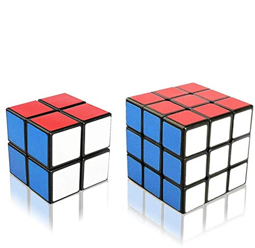 Ilink 2Pack Classic Standard 2x2x2 3x3x3 Smooth Speed Reliable Puzzle – Professional Original Magic Cube For Kids and Adults