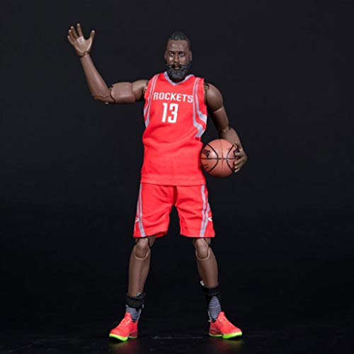Hmy NBA-figuren: NBA-serie 13 James Harden Rockets Limited Edition Collector's Action Figure 22 cm anime