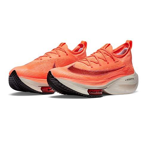 Nike Air Zoom ALPHAFLY Next%, Zapatillas para Correr Hombre, BRT Mango Citron Pulse Mtlc Red Bronze Black Palas Ivory Blackened Blue, 48.5 EU