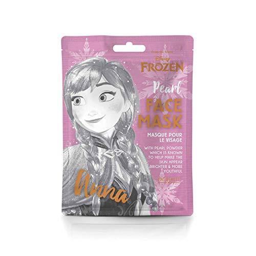 MAD Beauty Disney Gesichtsmaske Anna aus Frozen die Eiskönigin - feuchtigkeitsspendende & erfrischende Tuchmaske für gepflegte Haut und einen schönen Teint