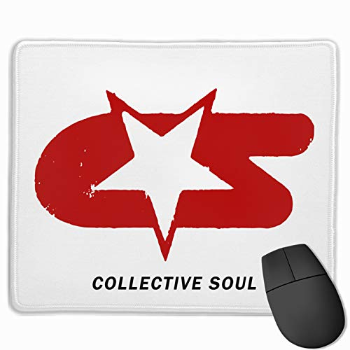 Collective Soul Logo The Mouse pad Fashion Anti Slip Mousepad for Computers Laptops Offices and Homes Desk Mouse pad Gaming Mouse pad 11.8X9.8 inch