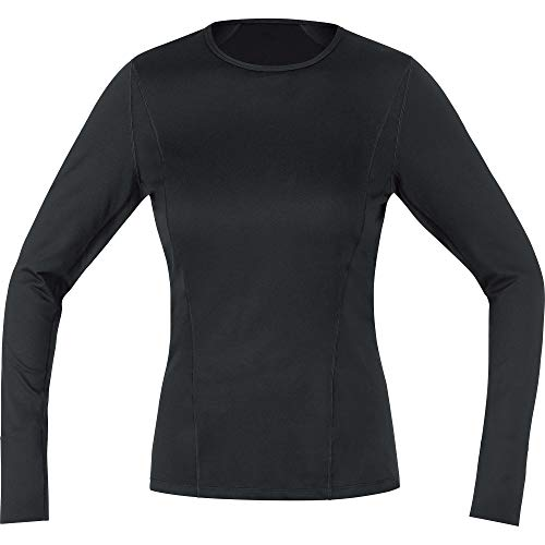 GORE WEAR M Femme Base Layer Maillot à manches longues Maillot manches longues Femme black FR: XS (Taille Fabricant: 34)