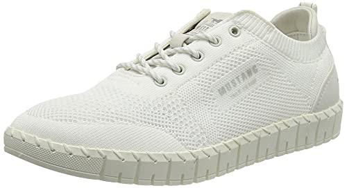 MUSTANG Damen 1379-301 Sneaker, Weiß, 37 EU