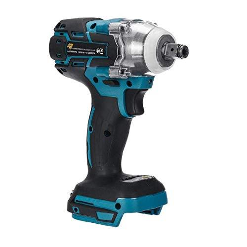 TYY-guang 18V Elektro-Schlagschrauber 1/2-Zoll-Brushless Cordless, Drehmoment 520Nm Schlüssel Power Tool Schlagfrequenz: 0-4000ipm