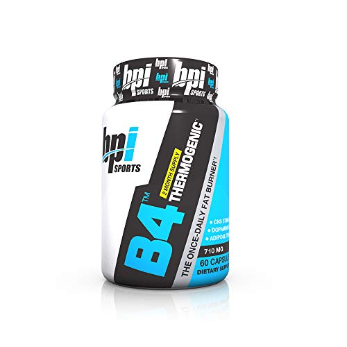 BPI Sports B4 Thermogenic The Once Daily Fat Burner, 60 Count