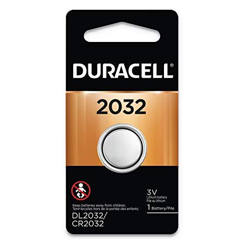 Bateria elétrica de lítio com botão DL2032BPK da Duracell, 2032, 3V, 6/caixa