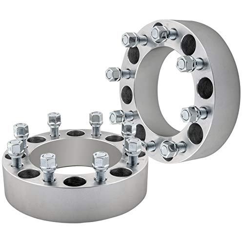 DCVAMOUS 8x6.5 Wheel Spacers 2 Inch Compatible with Dodge-Ford 8 Lug, 2pc...