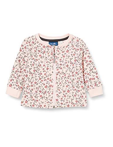 Sanetta Baby-Mädchen Sweatjacke Light Peach Strickjacke, rosa, 074
