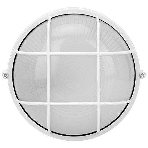 Parluna Feuchtigkeitsbeständige Saunazubehör, runde Lampe E27 Gewinde Glühbirne Praktische Saunalampe, Saunalampe, Massagesalon für Saunaraum Dampfbad