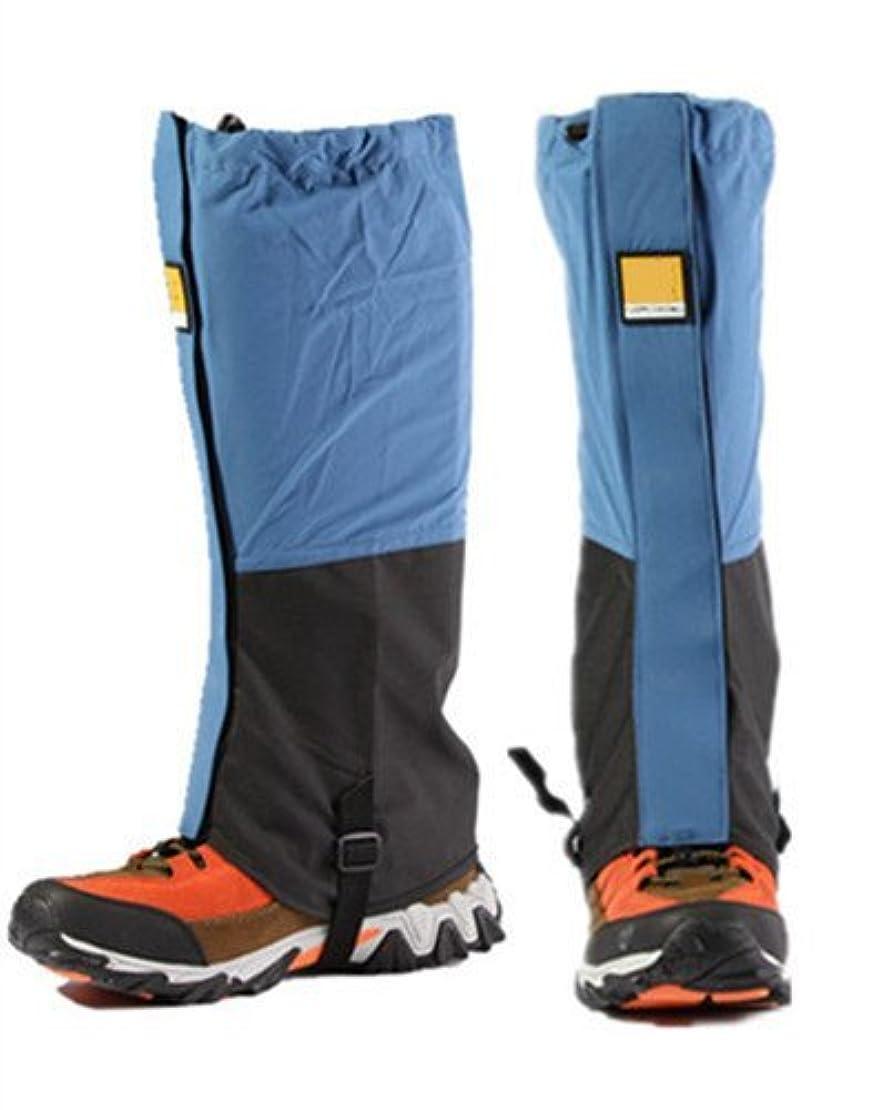 ボランティア止まる促すFormemory 登山ゲイター トレッキング用 登山靴 防水 雨よけ 雪対策 アウトドア ゲイター ロング スパッツ 撥水加工 防寒 泥はね防止 アウトドア用品 男女兼用 左右セット 悪天候対策