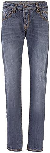 Camp David Jeans grau Used S622 Slim FIT Straight Leg NORMAL Wast Robin 999-5596