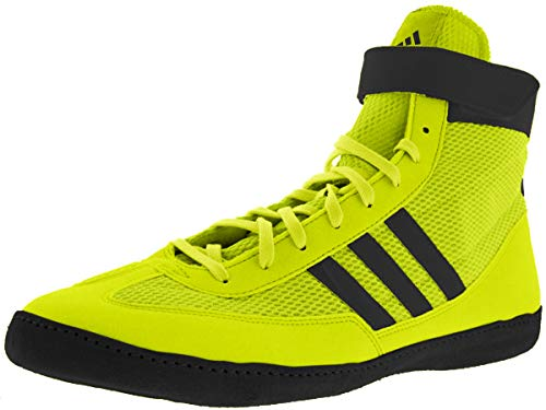 adidas Combat Speed 4 Wrestling Shoes Solar Yellow/Black Size 10.5