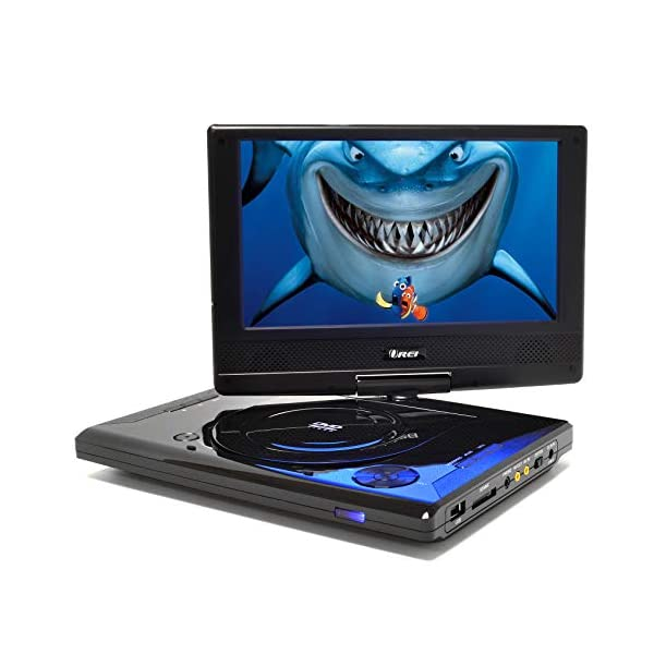 Portable All Multi Region Free Zone DVD Player - 4 Hour Battery, USB Input, Car Charger - USB Input Divx Playback 2