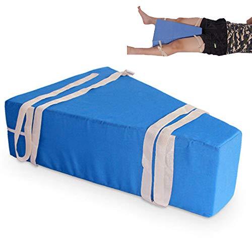 LANGYINH bed wigkussen been pad geheugen positioneren wiggen kussen met elastische riem hoogte ondersteuning kussen voor patiënt chirurgisch herstel