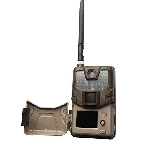Peaches Stores Cámara trasera HC900M 20Mp 1080P Wildlife Trail cámara trampas de fotos visión nocturna 2G SMS Mms Smtp E-mail teléfono móvil Caza Cámaras