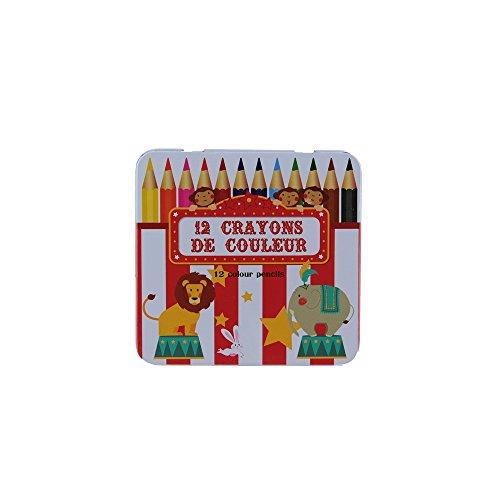 Juegos 2 Momes – ec4034 – Lápiz de Color Caja Metal