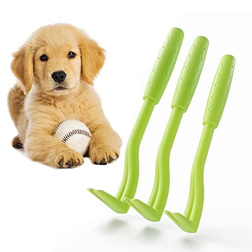 Zeckenhaken Zeckenzange | Verschiedene Haken für alle Zecken-Größen | Schonende Zeckenentfernung in Sekunden | GRATIS E-Book: Coole Tricks für clevere Dogs | Grün (3-Set)