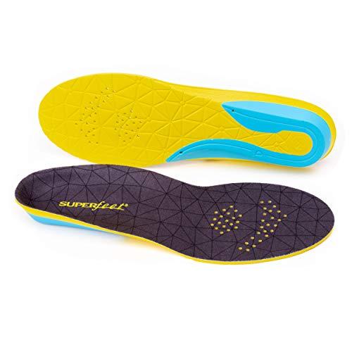 Superfeet FLEXthin - Plantillas acolchadas para zapatos de deporte, unisex, para hombre y mujer