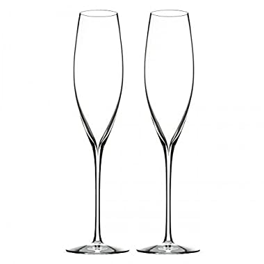 Waterford Elegance 11  Champagne Classic Flute, Pair