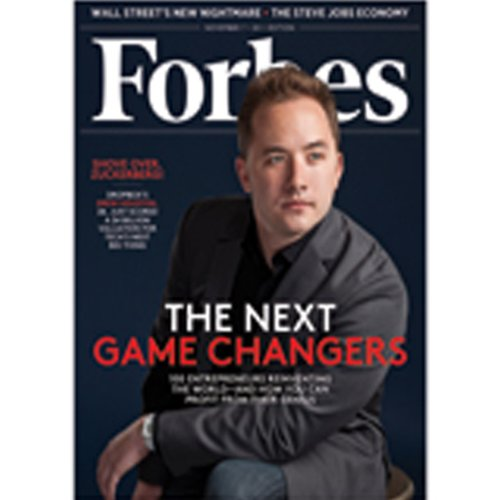 Forbes, October 24, 2011 audiobook cover art