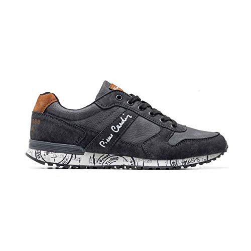 Pierre Cardin PC925 03 Grey Sneakers Ginnastica Herren Man, 03 Grey Grigio - Größe: 44 EU