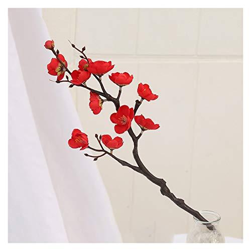 Imitation Winter Pflaume, dekorative Anordnung verschiedener Pflaumenblüten (ein Satz von 10 Niederlassungen), lebensechte Form und lange Lebensdauer Blütenblätter für Dekoration Nachahmung Pflaumenbl