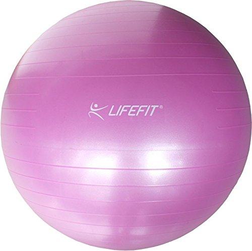 Lifefit Anti-Burst, Palla Fitness Unisex – Adulto, Rosa, 65 cm