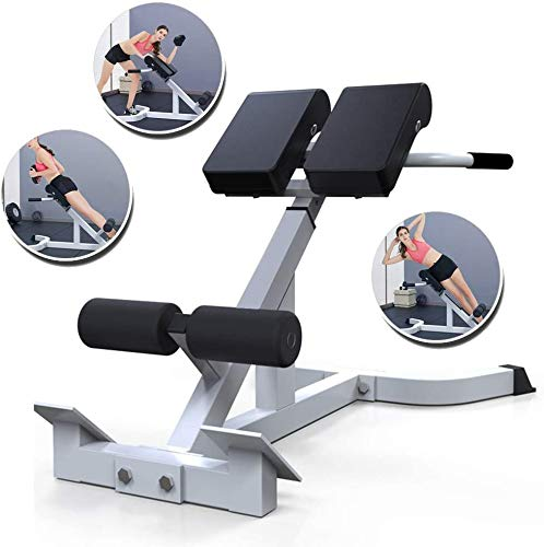Adjustable Weight Bench,Back Hyperextension Roman Chair Back Sit Up Ab...