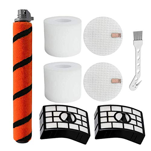 NEWOXY Compatible with Shark APEX DuoClean AX950 AX951 AX952 AZ1000W AZ1002 Vertical Vacuum Cleaner (1 Brush Roller-2 Sets of Replace Filters-1 Small Brush)