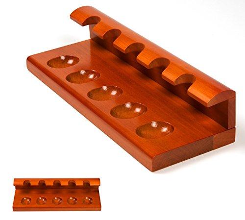 Lifestyle-Ambiente 5er Holz - Pfeifenständer