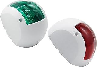 VICASKY 1 par de luzes de LED náuticas para barcos, caminhões navais