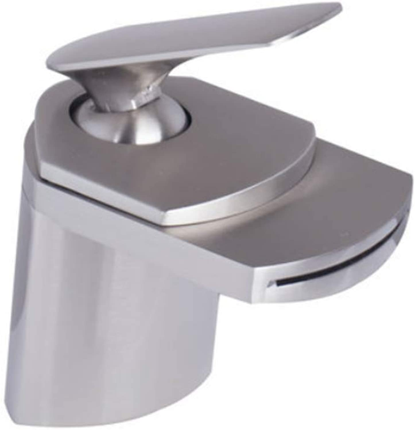 Taps Kitchen Basin Mixer Pull Out Mixerwaterfall Spout Wash Basin Tap Mixer Faucet Bathroom Chrome Wash Tap Deck Mounted