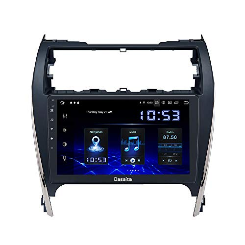 "Dasaita Android 10.0 Car Stereo for Toyota Camry 2012 2013 2014 Radio with 10.2"" Screen GPS Navigation 4GB Ram 32GB ROM Head Unit"
