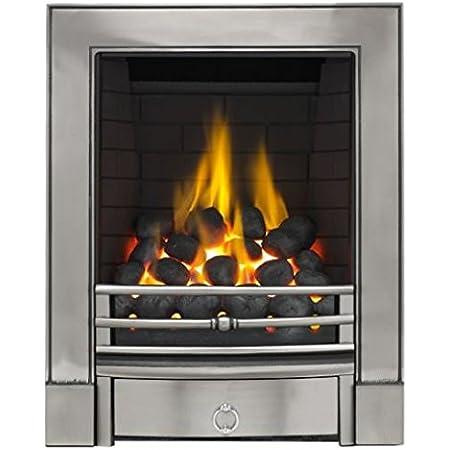 Be Modern Classic Axton Brass Multiflue Inset Gas Fire Slide Control