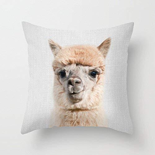 remmber me Divertido Bowl Haircut Alpaca Home Interior para decoración Estilo de Moda Cómodo