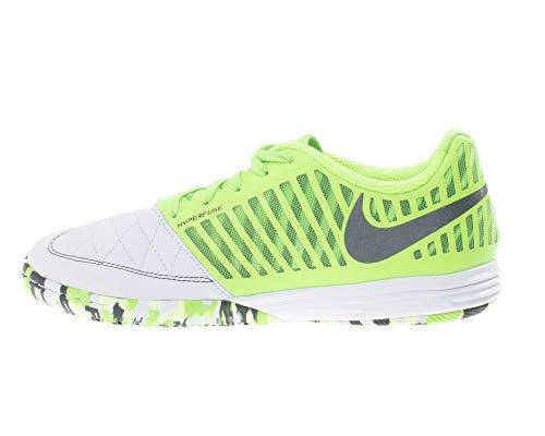 Nike Lunar Gato II IC, Botas de Fútbol Hombre, Multicolor (White/Anthracite/Electric Green 137), 40 EU