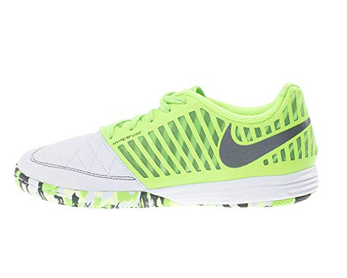 Nike Lunar Gato II IC, Botas de Fútbol Hombre, Multicolor (White/Anthracite/Electric Green 137), 40 EU